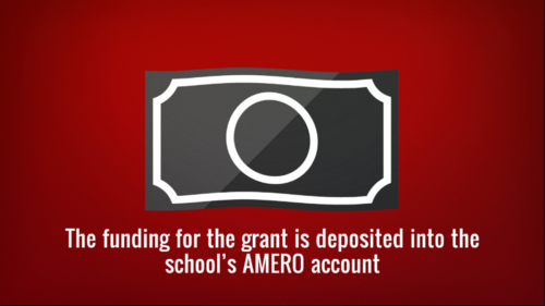 AMERO GRANT APPLICATIONS NOW BEING ACCEPTED